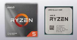 CPU AMD Ryzen 5 3600  3rd Gen/Zen2 - Tray