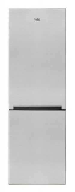 Холодильник с нижней морозильной камерой Beko RCSA365K20XP, 346л, 185см, A+