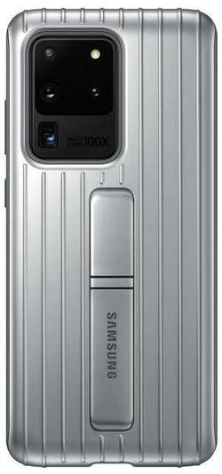 cumpără Husă pentru smartphone Samsung EF-RG988 Protective Standing Cover Silver în Chișinău