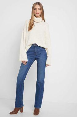 Pantaloni ORSAY Albastru 310022 orsay