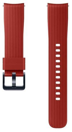 cumpără Accesoriu pentru aparat mobil Samsung ET-YSU81 Silicone Band for 42mm, Red în Chișinău