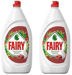 купить Средство для мытья посуды Fairy 4825 RED ORANGE 2X800ML в Кишинёве