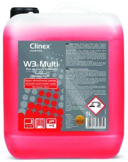Clinex W3 Multi 5l p/toalete, băi și piscine
