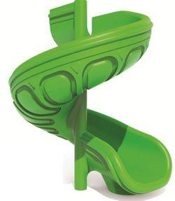 Скат для горки PlayPark LLDPE 1500 Spiral