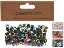 Set margele litere/cifre pentru fetite Creative Crafts