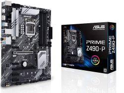 MB S1200 Asus PRIME Z490-P  ATX