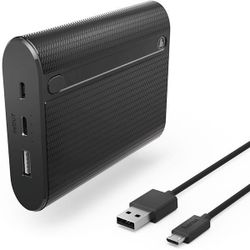 купить Аккумулятор внешний USB (Powerbank) Hama 178983 X10 10400 mAh в Кишинёве