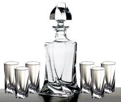 Комплект для напитков BOHEMIA Quadro MS-869210 (набор 7 ед)
