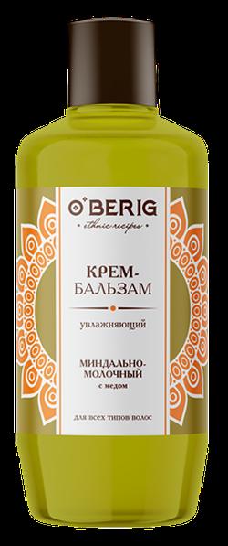 Balsam-cremă pentru toate tipurile de păr, ACME O'berig, 500 ml., Hidratare, cu ulei de migdale, proteine de lapte și miere