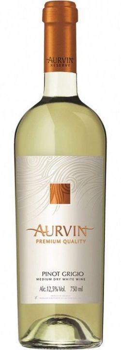 Vin Reserve Pinot Grigio Aurvin, sec alb,  0.75 L