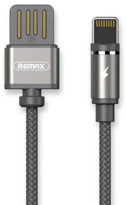 купить Кабель для моб. устройства Remax 35112 RC-095i GRAVITY cable Apple, Black в Кишинёве