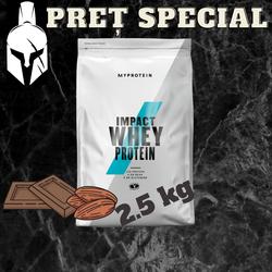 Сывороточный протеин (Impact Whey Protein) - Шоколад и орехи - 2.5 KG