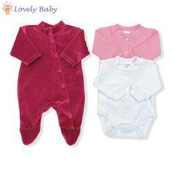 Набор для новорожденных бордовый
