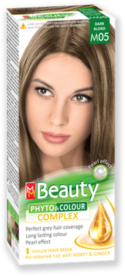 Краска для волос,SOLVEX MM Beauty, 125 мл., M05 - Тёмно русый