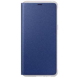 купить Чехол для смартфона Samsung EF-FA530, Galaxy A8 2018, Neon Flip Cover, Blue в Кишинёве
