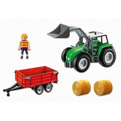 Large Tractor with Tra, PM6130