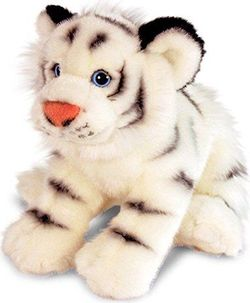 Белый Тигр 33 см, код 42798