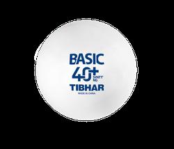 Мяч для настольного тенниса Tibhar Basic 40+ SYNNT NG (863) (la comanda)