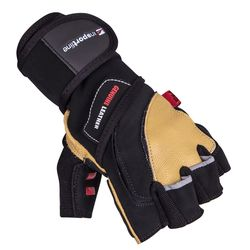 Перчатки для фитнеса кожаные 3XL 16489 (2601) inSPORTline