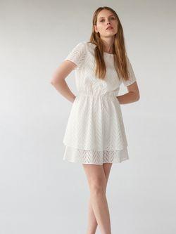 Платье MOHITO Белый zz364