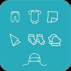 Набор одежды для новорожденного Primul Sens Classic (7 ед.)