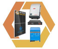 Автономная солнечная станция 4 кВт