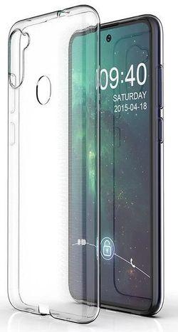 cumpără Husă pentru smartphone Screen Geeks Galaxy A11 TPU ultra thin, transparent în Chișinău