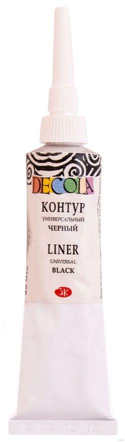 Contur universal DECOLA col. negru 18 ml