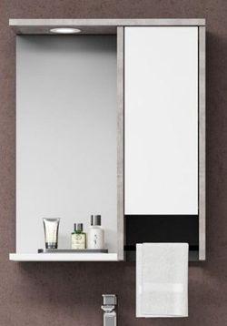 Dulap cu oglindă Orka Aydos 55 White (06083)