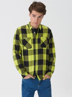 Рубашка HOUSE Зеленый