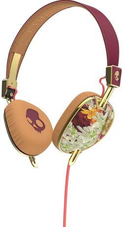 cumpără Cască cu microfon Skullcandy KNOCKOUT on-ear floral/burgundy/rose gold în Chișinău