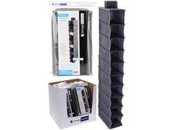 Органайзер для хранения подвесной 10секций 15X30X120cm