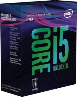 Процессор Intel Core i5-8600K Box