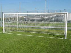 Футбольные ворота стационарные 7.32x2.44 м, алюминий Yakimasport  BR0007 (5042)