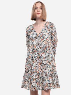 Платье TOM TAILOR Цветной принт 1021994 24905
