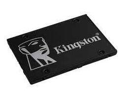2,5-дюймовый твердотельный накопитель с интерфейсом SATA 1,0 ТБ Kingston KC600 [R / W: 550/520 МБ / с, 90/80 000 операций ввода-вывода в секунду, SM2259, 3D NAND TLC]
