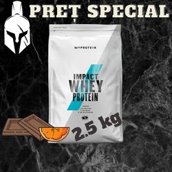 Сывороточный протеин (Impact Whey Protein) - Шоколад и апельсин - 2.5 KG