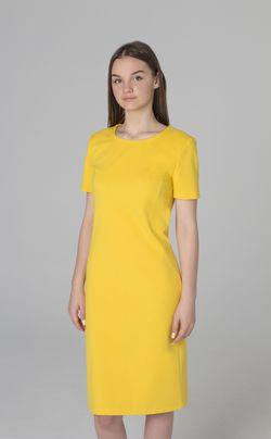 Rochie de culoare galbenă