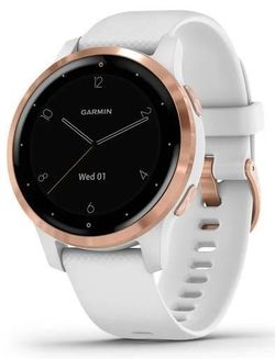 купить Смарт часы Garmin vivoactive 4S White/Rose Gold, S.EU в Кишинёве