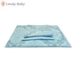 Набор постельного белья голубой 4 шт