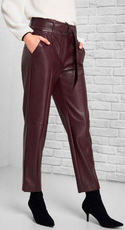 Pantaloni ORSAY Bordo 353071 orsay