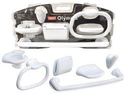Набор держателей настенных для ванной Olympia, 6 предметов