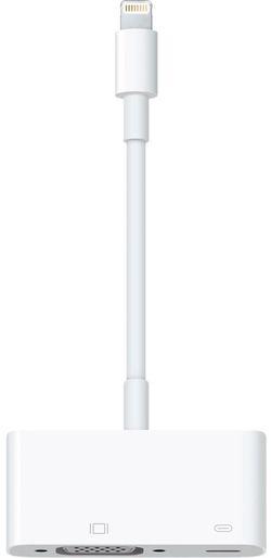 cumpără Accesoriu Apple Apple Lightning to to VGA Adapter (MD825ZM/A) în Chișinău