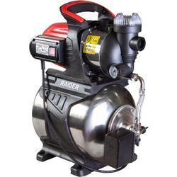 Гидрофор с баком из нержавеющей стали 1200Вт, 64л/мин,48м,3 бара, выход 1 дюйм,встроенный манометр. Raider RD-WP1200S
