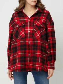 Bluza ONLY Rosu in carouri