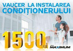cumpără Certificat - cadou Maximum VOUCHER_1500 Reducere la instalarea aparatului de aer condiționat în Chișinău