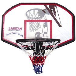 Щит баскетбольный 110x70 см с кольцом и сеткой 48 см Spartan San Francisco S1150 (3664) (под заказ)