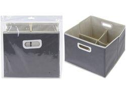 Органайзер для хранения 4секции 31X31X25cm тканевый