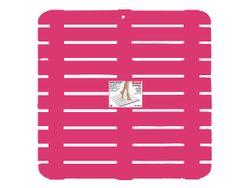 Настил для душа Tatay 55X55X3cm розовый, пластик