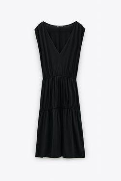 Платье ZARA Чёрный 5580/627/428